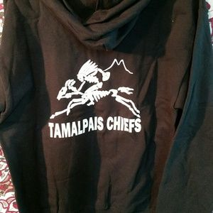 Grateful Dead Tamalpais Chiefs zip hoodie